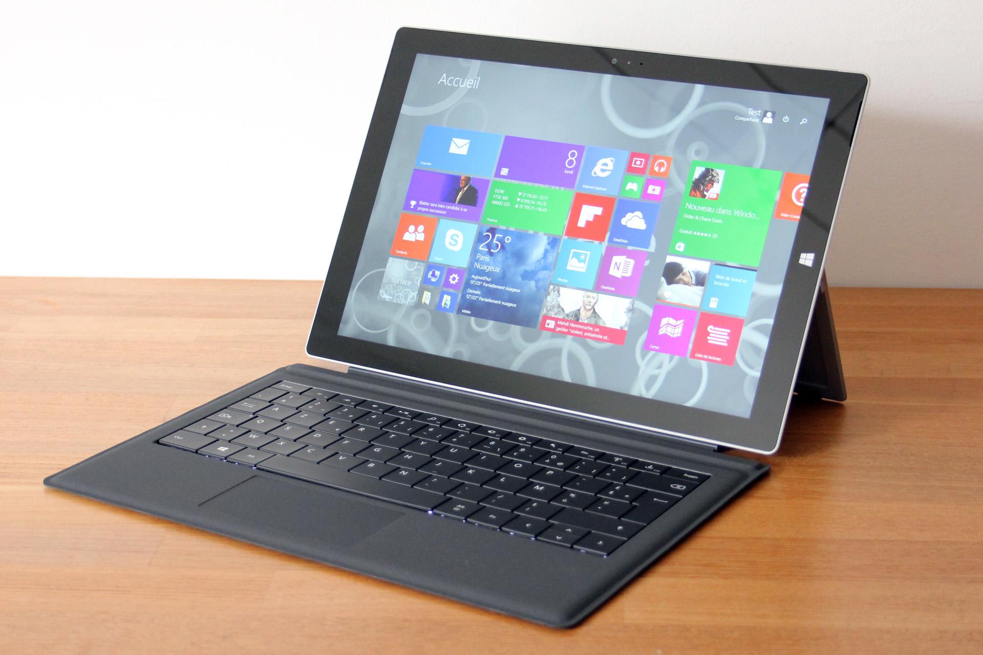 Surface Pro 3 Core Intel i5-4300U / 4GB / SSD 128GB