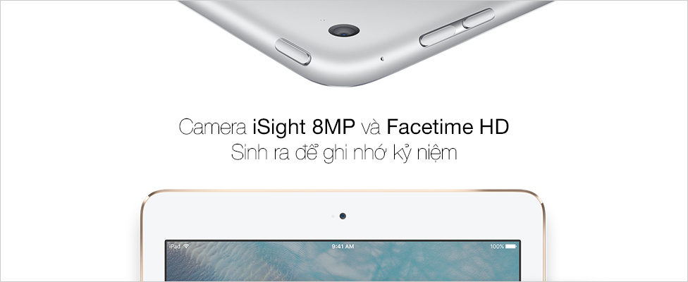 Camera 8MP hoàn hảo để ghi lại từng khoảnh khắc