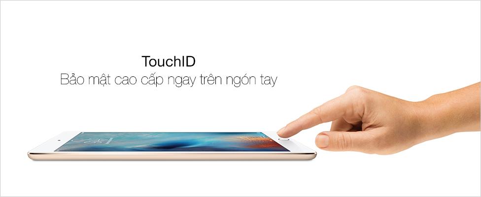 TouchID bảo mật tuyệt đối với dấu vân tay của bạn