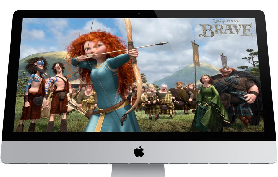 iMac - ME086 với màu sắc cực kì trung thực
