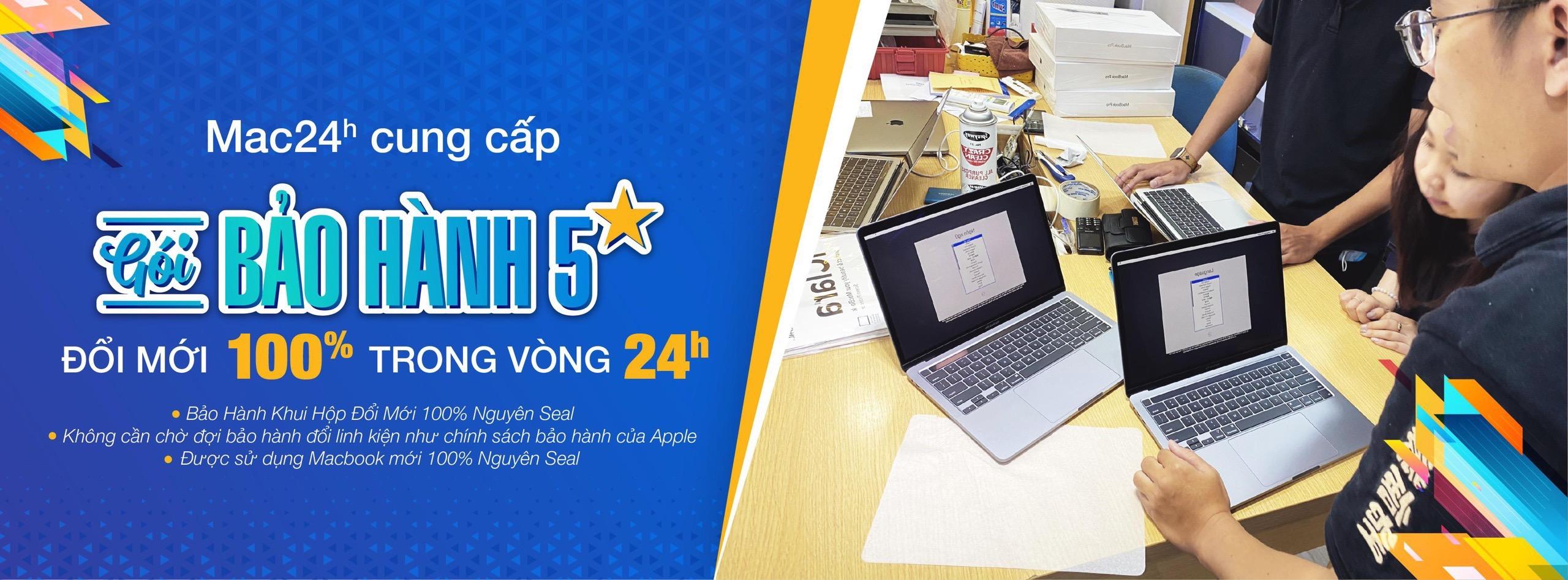 Bảo hành Macbook Air 2020