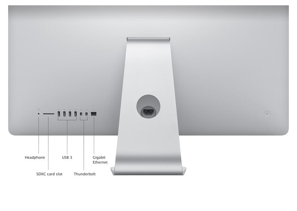 Phong cách thiết kế mỏng hơn iMac - ME087