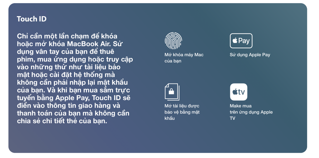 Touch ID air 2021